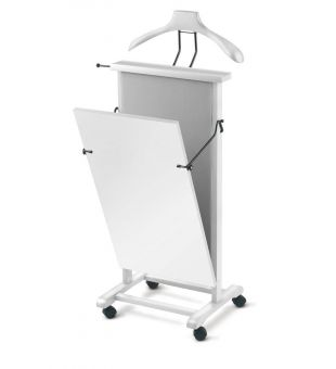Clothes valet in white wood