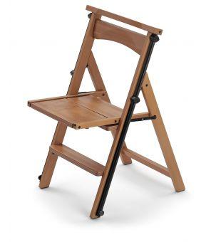 Ladder-chair in cherry wood